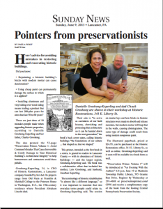 Pointers from preservationists